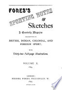 Fores s Sporting Notes   Sketches