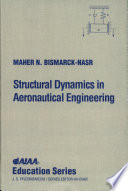 Structural Dynamics in Aeronautical Engineering Book