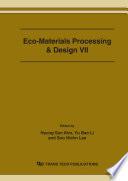 Eco Materials Processing Design Vii Book PDF