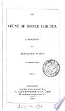 The Count of Monte Christo  A Romance