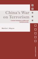 Pdf China's War on Terrorism Telecharger