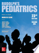 Rudolph s Pediatrics  23rd Edition