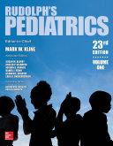 Rudolph s Pediatrics  23rd Edition