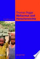 Weltarmut und Menschenrechte  : Kosmopolitische Verantwortung und Reformen