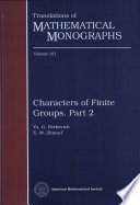 Characters of Finite Groups