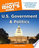 The Complete Idiot S Guide To U S Government And Politics