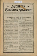 Michigan Christian Advocate