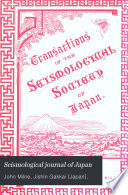 Seismological Journal of Japan