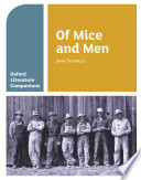Oxford Literature Companions  Of Mice and Men