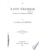 A Latin Grammar Book PDF