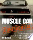 Muscle Car Confidential Book PDF