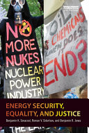 Energy Security  Equality and Justice