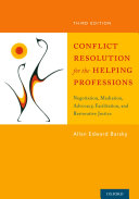 Conflict Resolution for the Helping Professions: ...