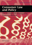 Consumer Law and Policy
