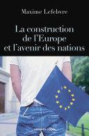 Pdf La construction de l'Europe et l'avenir des nations Telecharger