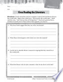 The Boy in the Striped Pajamas Close Reading and Text-Dependent Questions