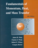 Cover of Fundamentals of Momentum, Heat, and Mass Transfer