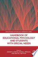 Handbook of Educational Psychology and Students with Special Needs