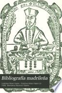 Bibliografía madrileña