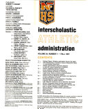 Interscholastic Athletic Administration Book