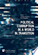 Political Corruption in a World in Transition