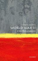 World War II  A Very Short Introduction