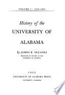 History of the University of Alabama: 1818-1902