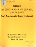 Pdf Proposed Outer Continental Shelf Arctic Sand and Gravel Lease Sale