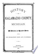 History of Kalamazoo County, Michigan