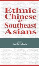 Ethnic Chinese As Southeast Asians [Pdf/ePub] eBook