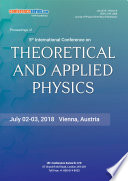 Proceedings of 5th International Conference on Theoretical and Applied Physics 2018