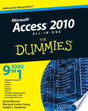 Access 2010 All In One For Dummies