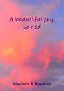 A beautiful sky so red