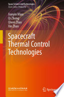 Spacecraft Thermal Control Technologies Book PDF