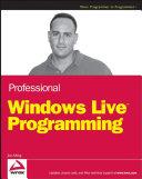Professional Windows Live Programming