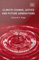 Climate Change, Justice and Future Generations Pdf/ePub eBook