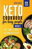 Keto Cookbook for Busy People Book