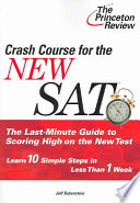 Crash Course for the New SAT