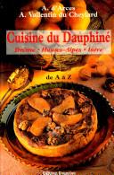 Cuisine du Dauphiné