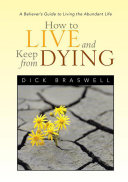 How to Live and Keep from Dying Pdf/ePub eBook