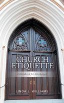 Pdf Church Etiquette: A Handbook for Doorkeepers Telecharger