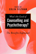 What s the Good of Counselling   Psychotherapy