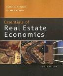 Cover of Essentials of Real Estate Economics