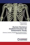Human Humerus Sexdetermination An Osteometric Study Book