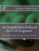 An Introduction To Excel For Civil Engineers Book PDF