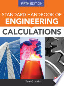 Standard Handbook Of Engineering Calculations Fifth Edition Book PDF