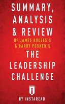 Summary  Analysis   Review of the Leadership Challenge