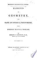 Elements of Geometry, and Plane and Spherical Trigonometry