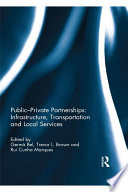 Public Private Partnerships  Infrastructure  Transportation and Local Services