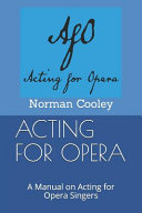 Acting for Opera